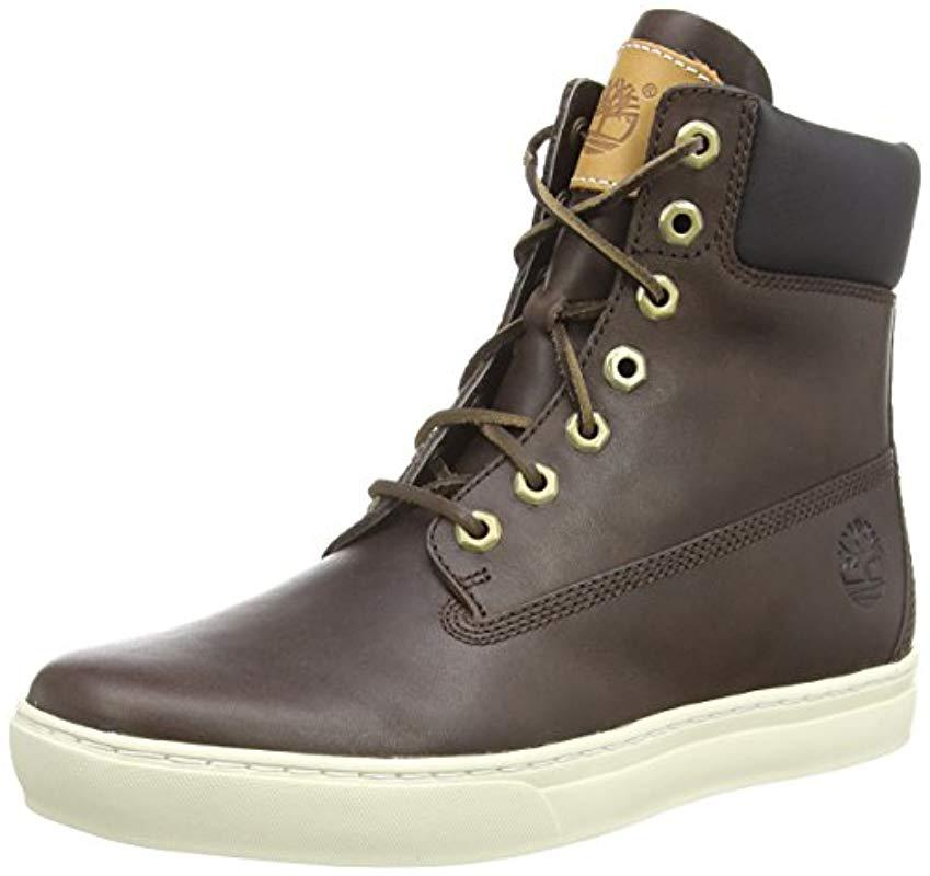 d26a3fe7085f Timberland  s Newmarket Cup 6 Ln Ankle Boots in Brown for Men - Lyst