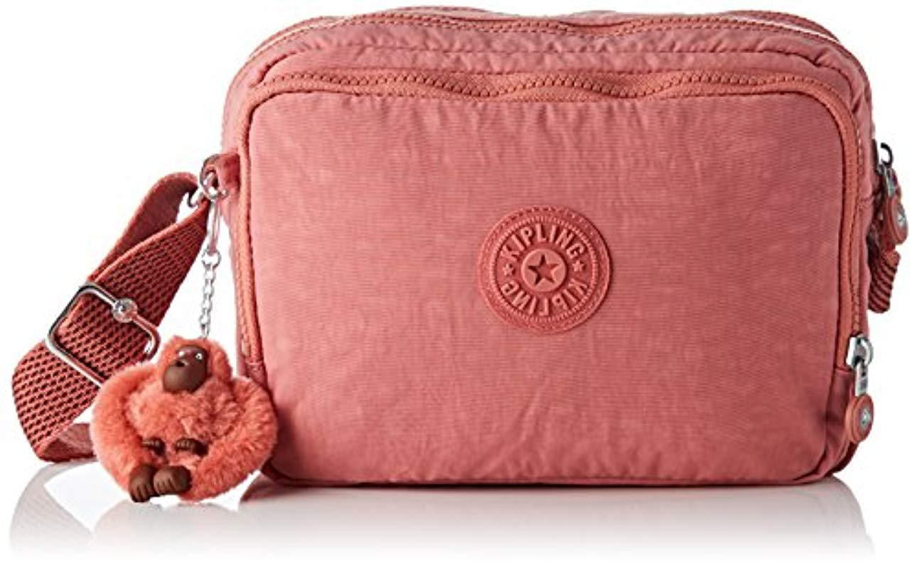 Kipling Silen Cross-body Bag in Pink - Lyst 26bea153c4