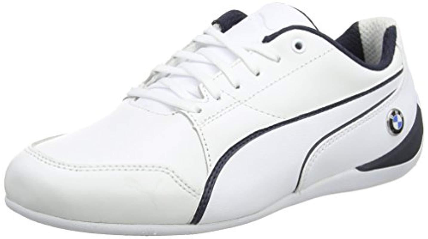 PUMA Unisex Adults  Bmw Ms Drift Cat 7 Trainers in White for Men - Lyst 9a220b1cb