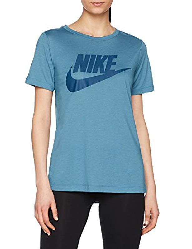 af9e6ccb4d2e Nike - Blue Sportswear Essential Logo T-shirt - Lyst. View fullscreen