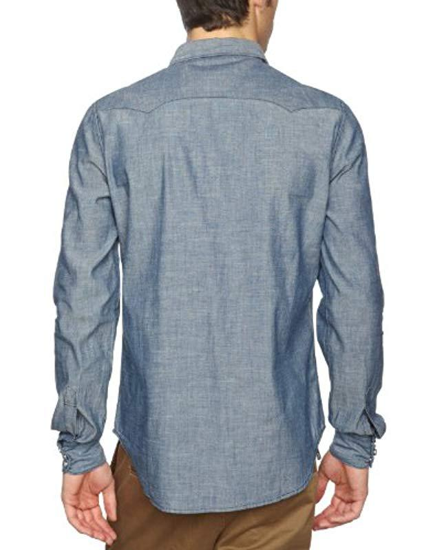 a2054cbb9c Levi s Sawtooth-2 Shirt in Blue for Men - Lyst