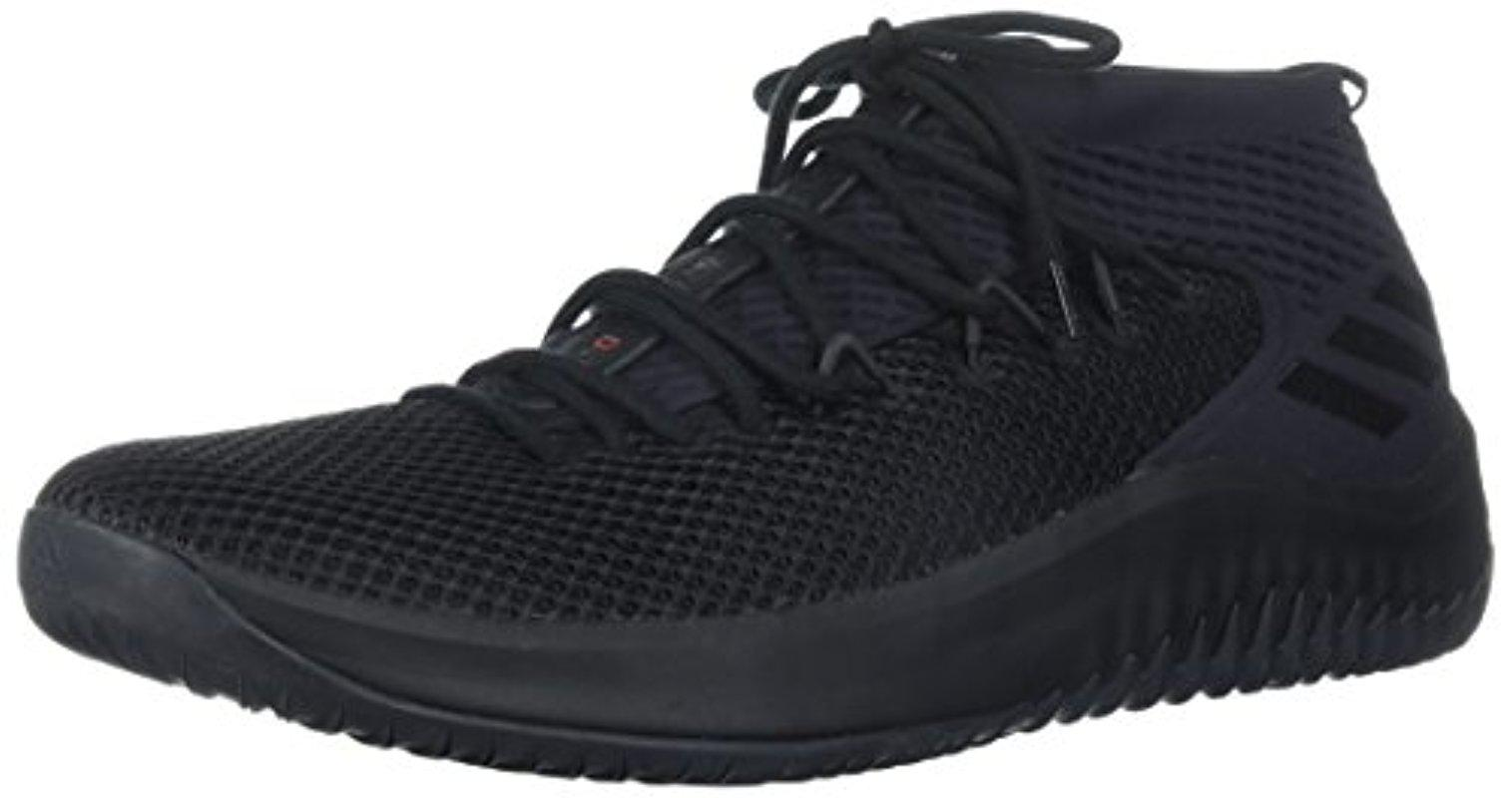 sports shoes ca119 d18e8 adidas. Mens Black Dame 4,