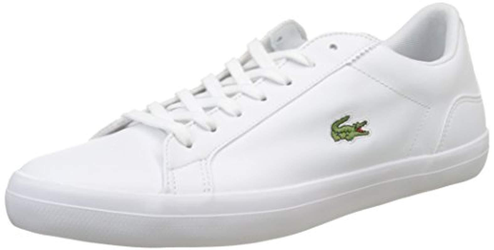 56a99be6341512 Lacoste Lerond Bl 1 Cam Low in White - Save 6% - Lyst