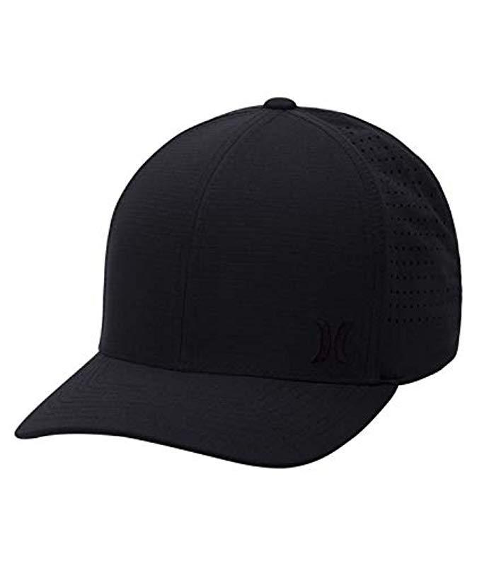 e51a17b372b Lyst - Hurley Phantom Ripstop Curved Bill Baseball Cap in Black for ...