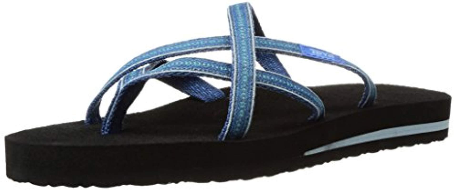 9dbf11ee7 Lyst - Teva Olowahu Flip-flop in Blue - Save 36%