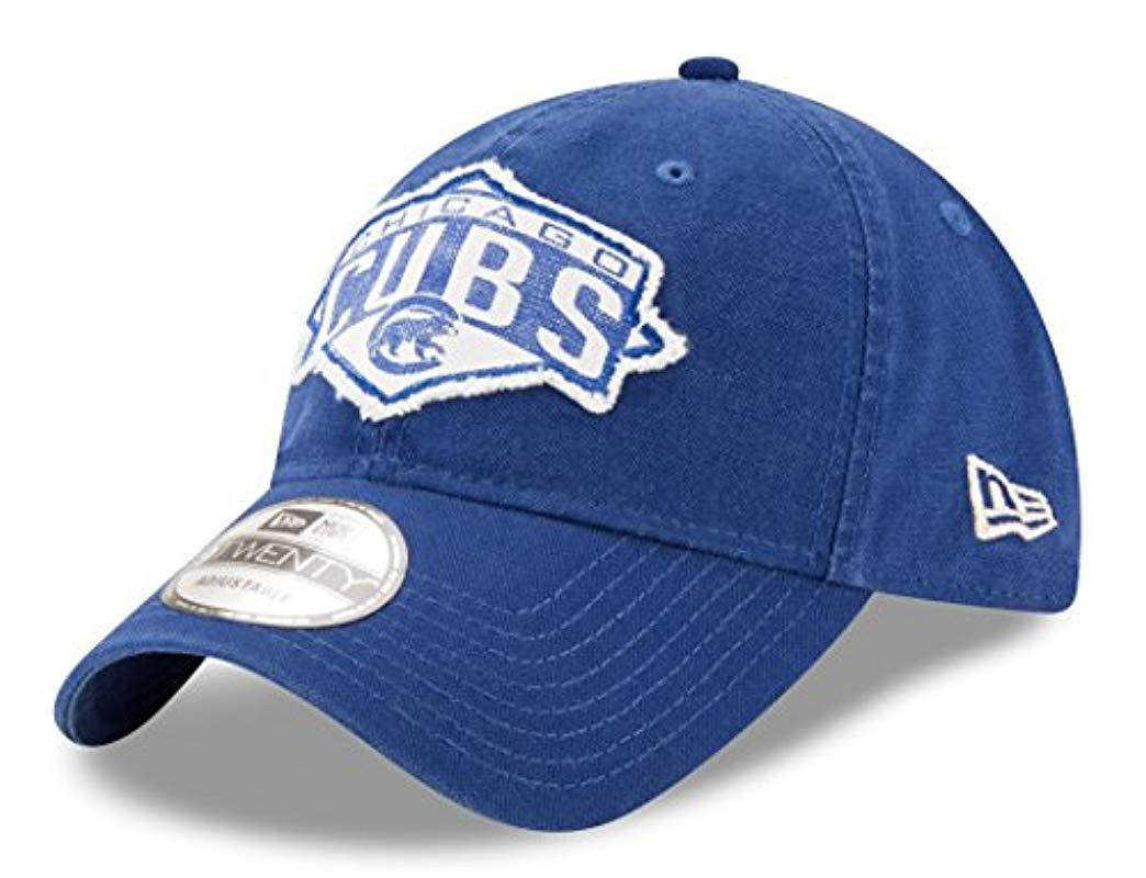 770beacde97 Lyst - KTZ Chicago Cubs Mlb 9twenty Patched Classic Adjustable Hat ...