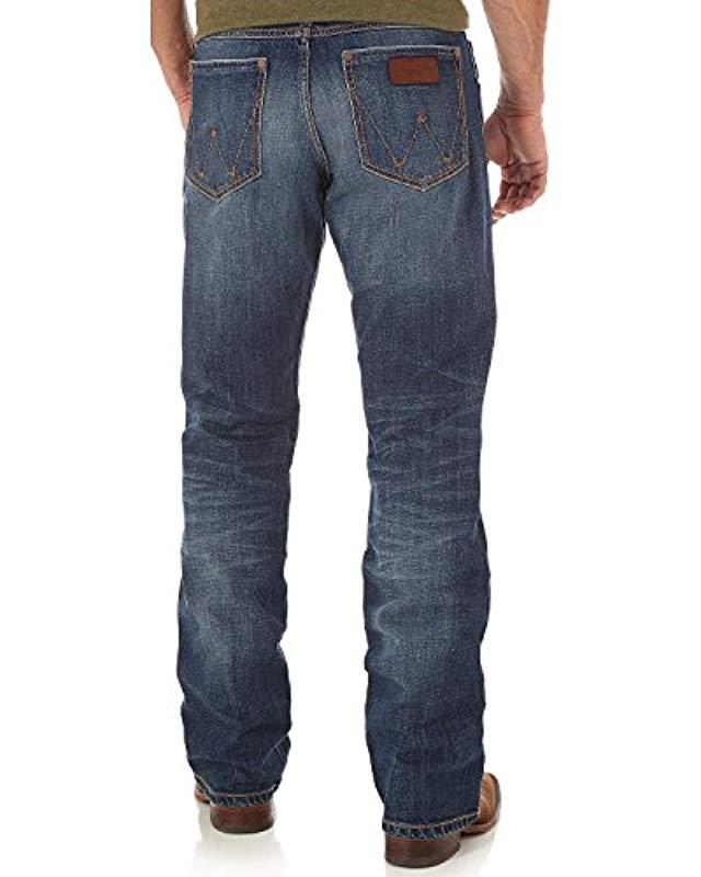 f61ca17c Lyst - Wrangler 's Retro Relaxed Fit Boot Cut Jean, Jackson Hole ...