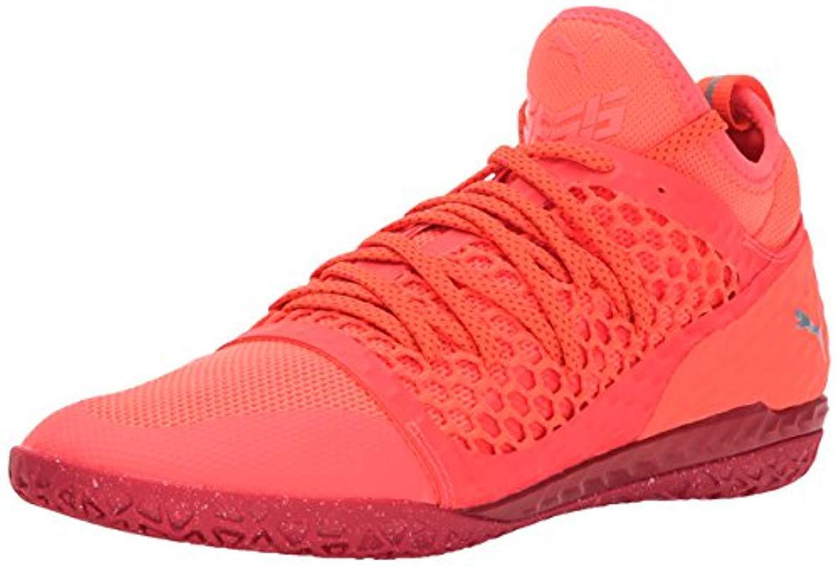 3d793a49247a Lyst - PUMA 365 Ignite Netfit Ct Soccer Shoe in Red for Men