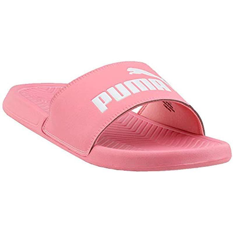 PUMA. Women s Pink Popcat Slide Sandal 2bbbb8d61