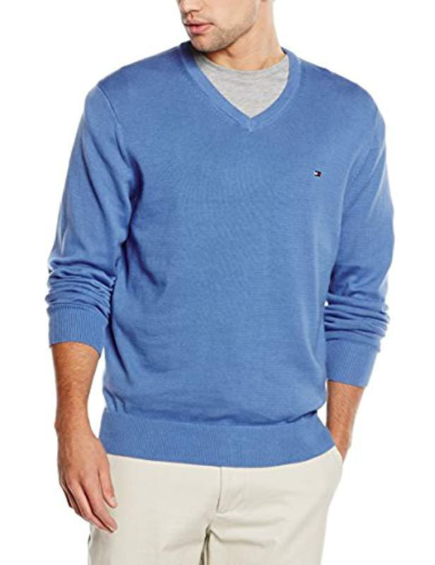 adda2bc00 Tommy Hilfiger Pacific V-nk Cf Jumper in Blue for Men - Lyst