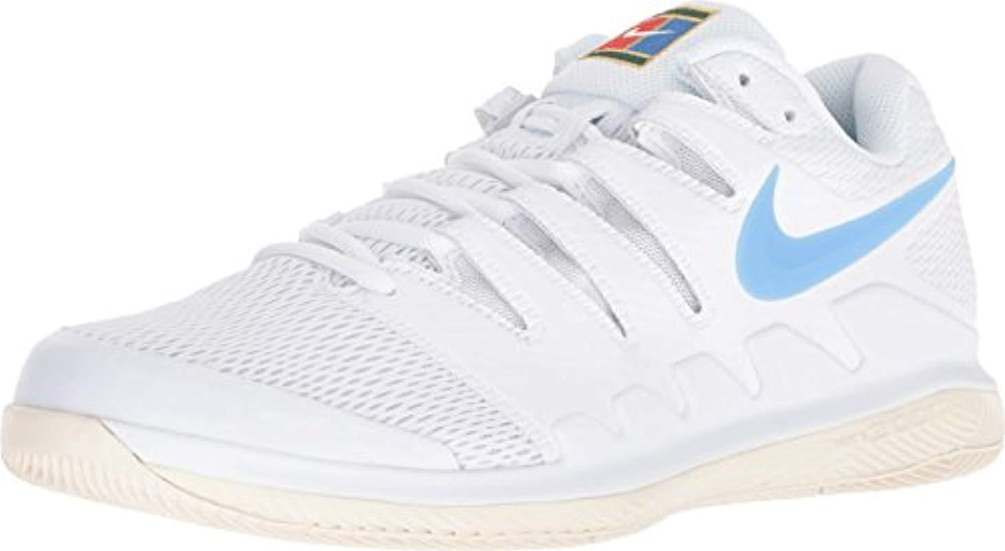 99be128463e24 Nike Air Zoom Vapor X Hc Fitness Shoes in White for Men - Lyst
