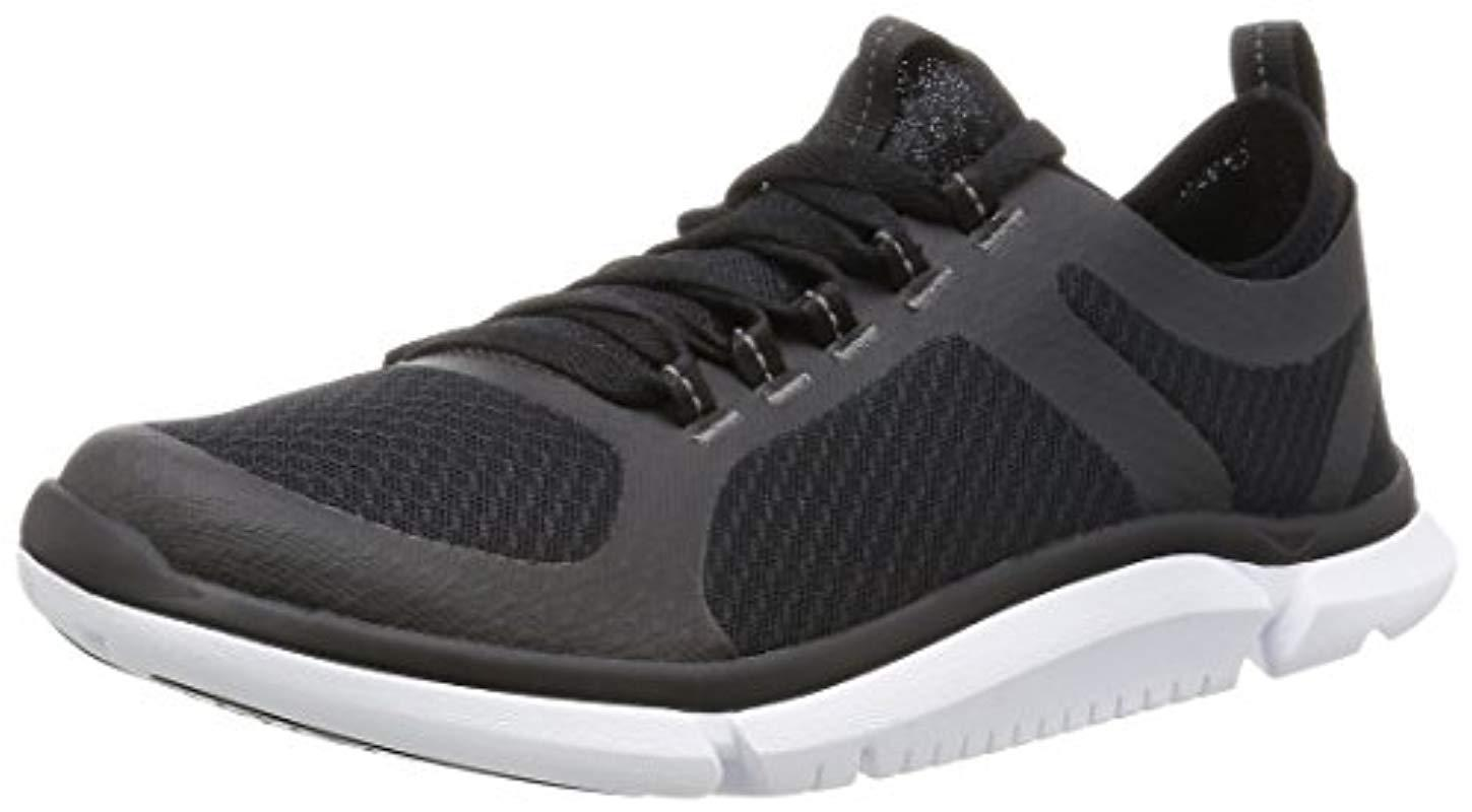 c61e6ef9b Clarks Triken Active Low-top Sneakers in Black for Men - Lyst