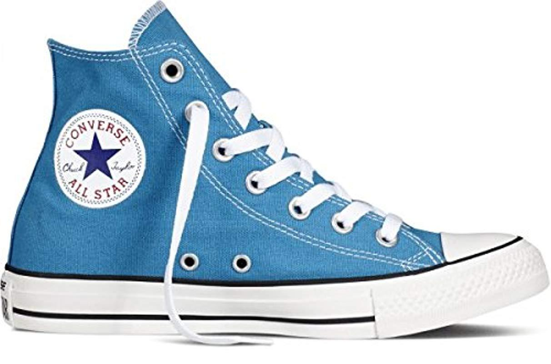 zapatillas altas mujer converse azul