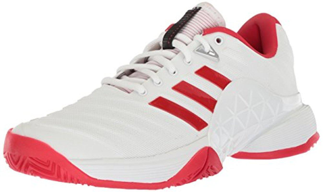 Lyst adidas Barricade 2018 W zapato tenis en blanco