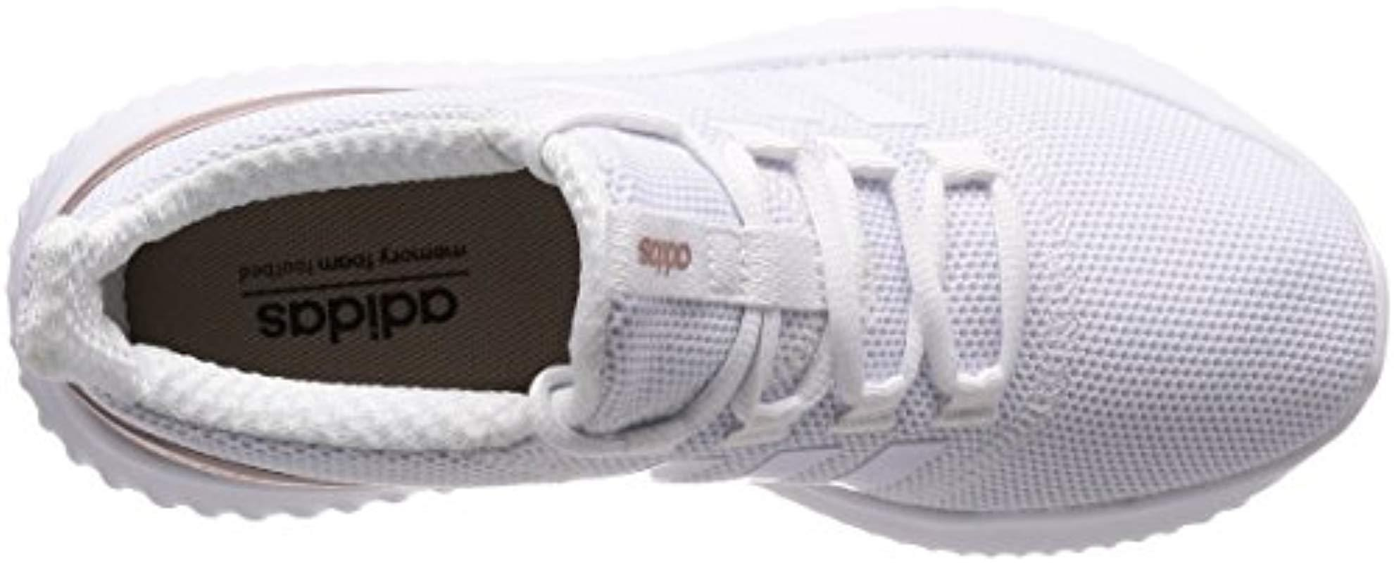 new styles 297d5 aa3b7 Adidas - White Cloudfoam Ultimate Competition Running Shoes - Lyst. View  fullscreen