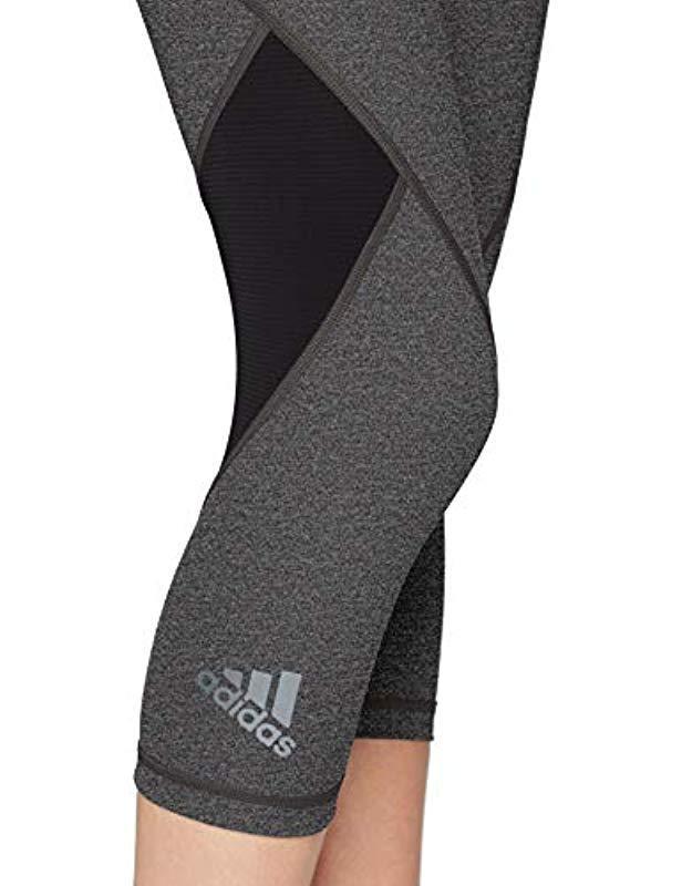 a9aadfbb2594b adidas 's Ask Spr Tig 34h Sports Tights in Black - Lyst