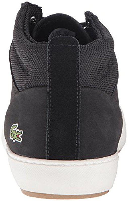 3f6fc2364dab6 Lyst - Lacoste Ampthill Chukka 416 1 Spw Fashion Sneaker in Black
