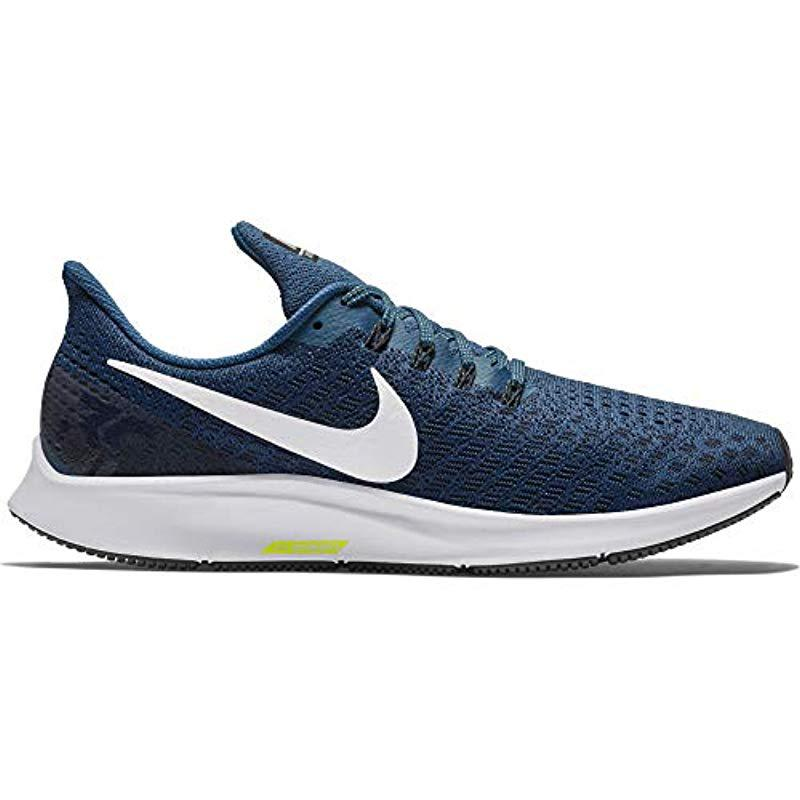 dc9a5fd3db088 Nike Air Zoom Pegasus 35 Competition Running Shoes in Blue for Men ...