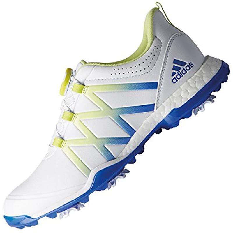 aa66b1921cf05 adidas 's W Adipower Boost Boa Golf Shoes in White - Lyst