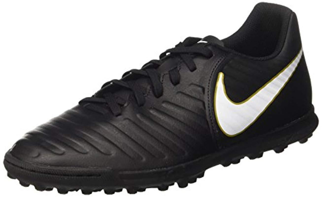 424affc3c4f9 Nike Tiempox Rio Iv Tf Football Boots in Black for Men - Lyst