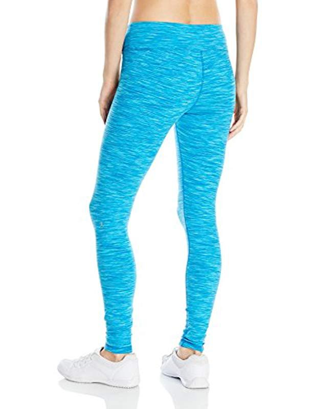 fabd0559511b6 Lyst - Danskin Supplex Ankle Legging With Wide Waistband in Blue - Save 40%