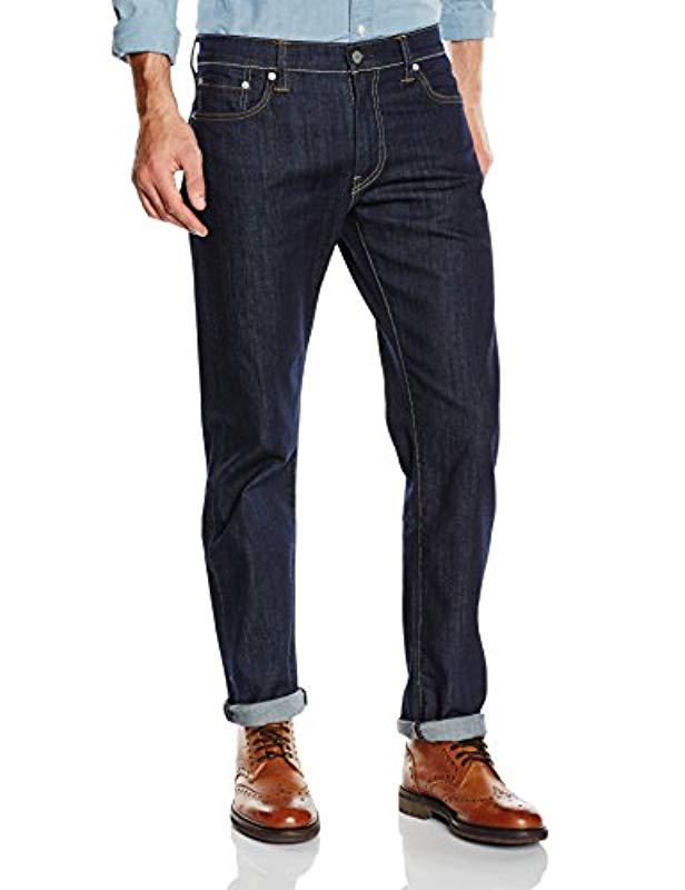 1cbc8e64 Levi's 504 Regular Straight Fit Jeans in Blue for Men - Lyst