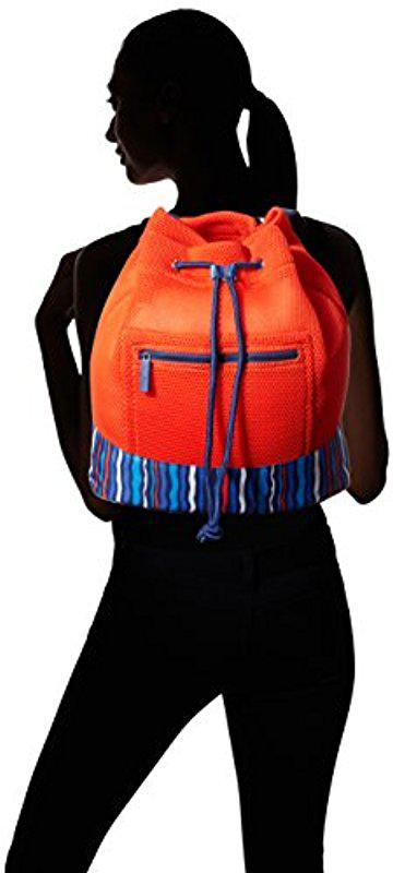 efae12ecd3 Lyst - Vera Bradley Mesh Backpack
