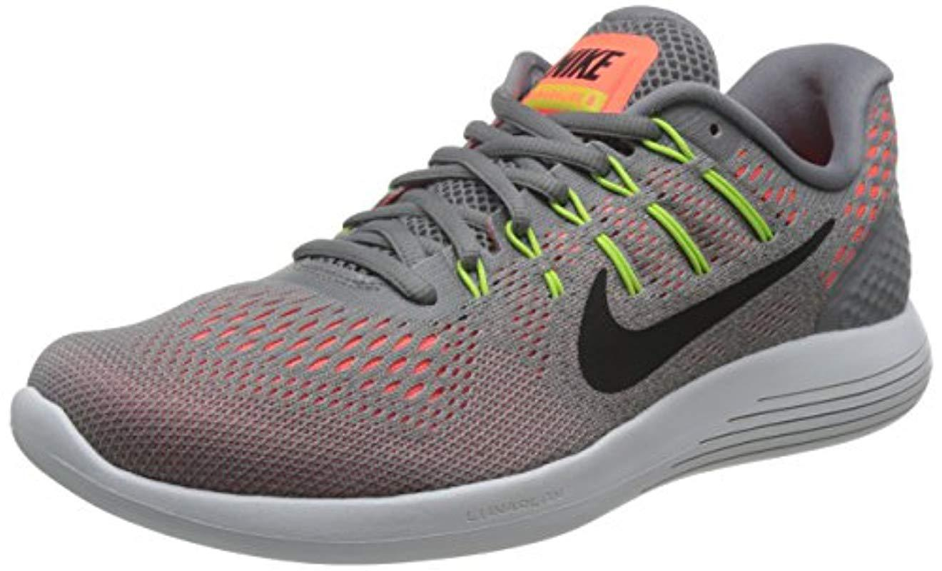 4376577bc389 Nike Lunarglide 8 Running Shoes in Gray for Men - Lyst