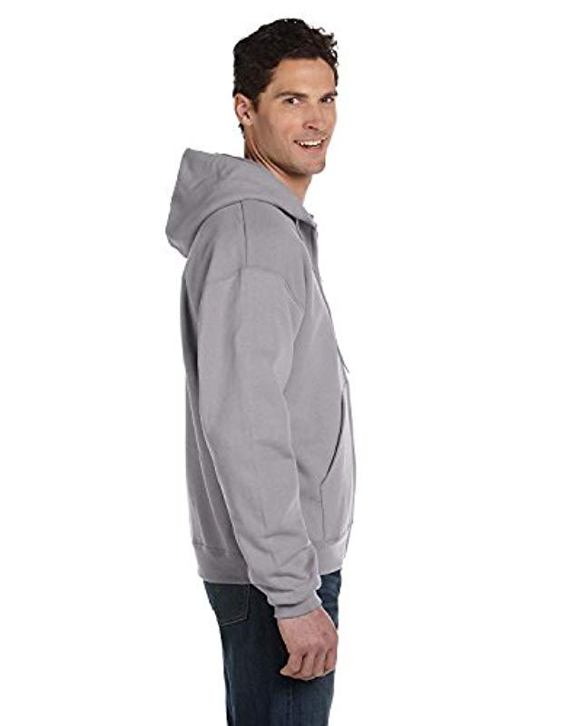 74d34cb8fac75 Lyst - Champion Plus Size Fleece Pullover Hoodie in Gray