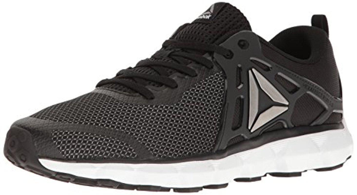 Reebok. Men's Black Hexaffect 5.0 Mtm Running Shoe
