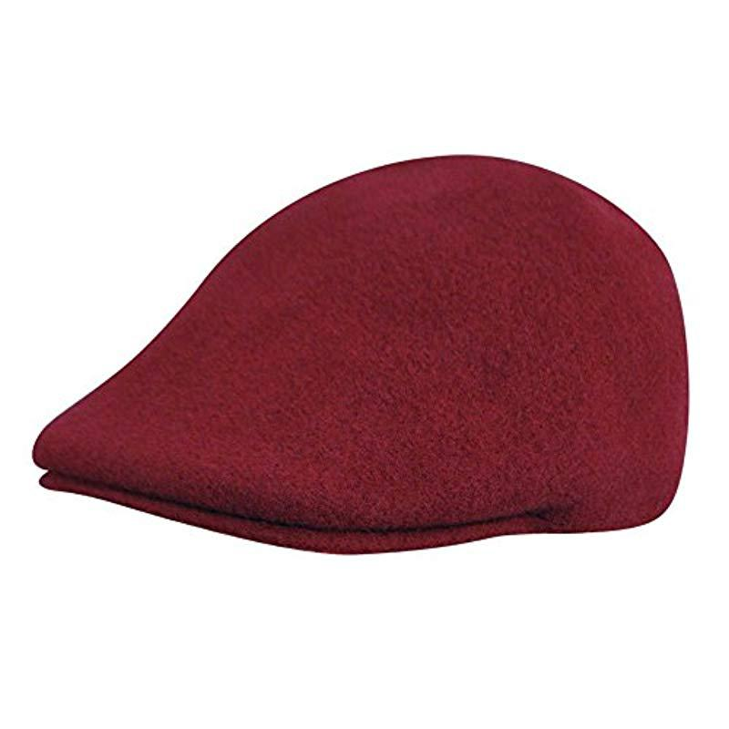 fc33c834aa9 Lyst - Kangol Wool 507 Cap in Red for Men - Save 22%
