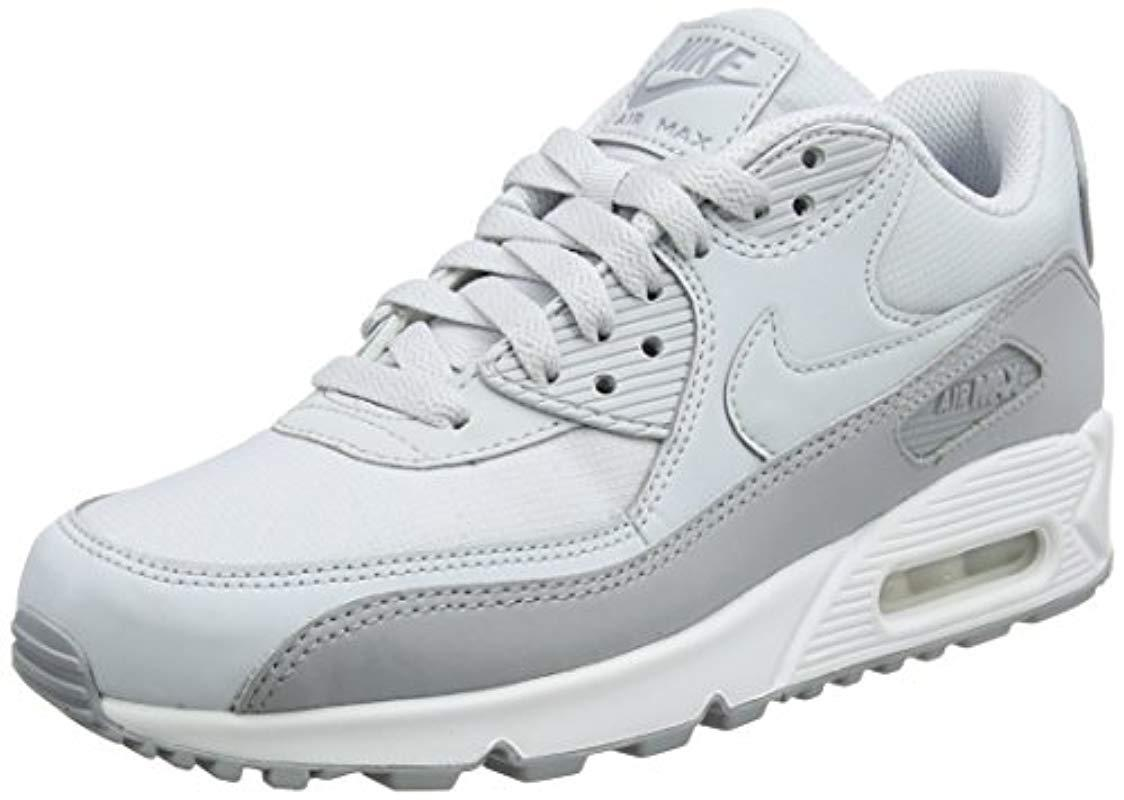 the latest 1d1e9 d83a9 Nike. Men s Gray  s Air Max 90 Essential Running Shoes
