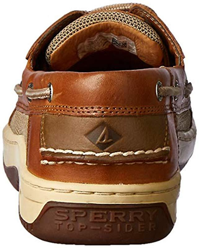 22efc35859678 Lyst - Sperry Top-Sider Top-sider Billfish 3-eye Boat Shoe in Brown for Men  - Save 31%
