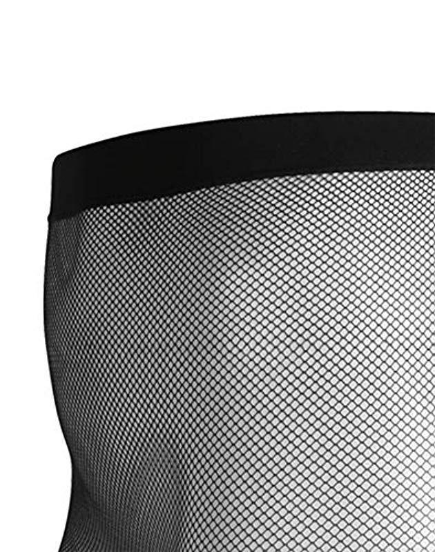 e7ec740805f73 Lyst - Hanes Plus Size Curves Fashion Fishnet Tights in Black