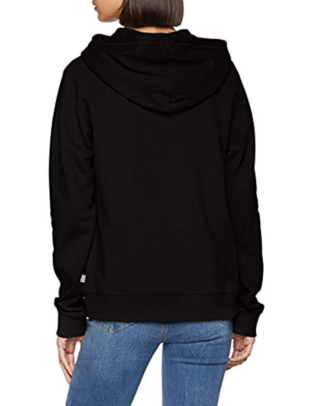 3422ffb93a9a97 Vans  s Full Patch Raglan Zip Hoodie in Black - Save 17% - Lyst