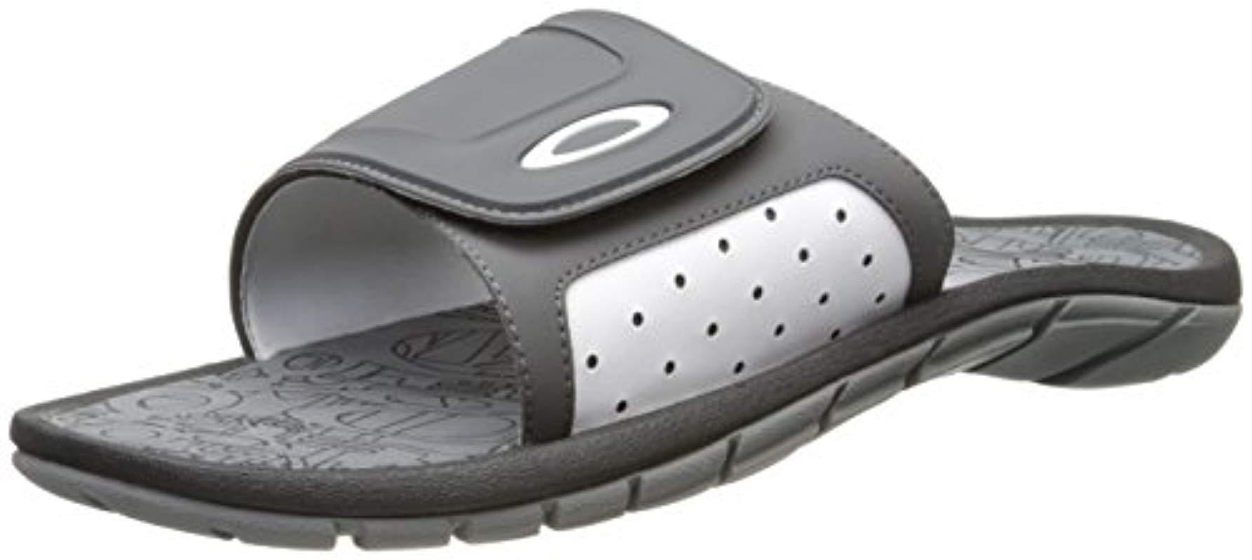 61eeaace9fe5 Lyst - Oakley Supercoil Slide Sandal in Gray for Men