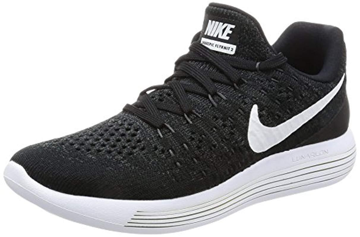 807a029a4c993 Nike 's W Lunarepic Low Flyknit 2 Trail Running Shoes in Black ...