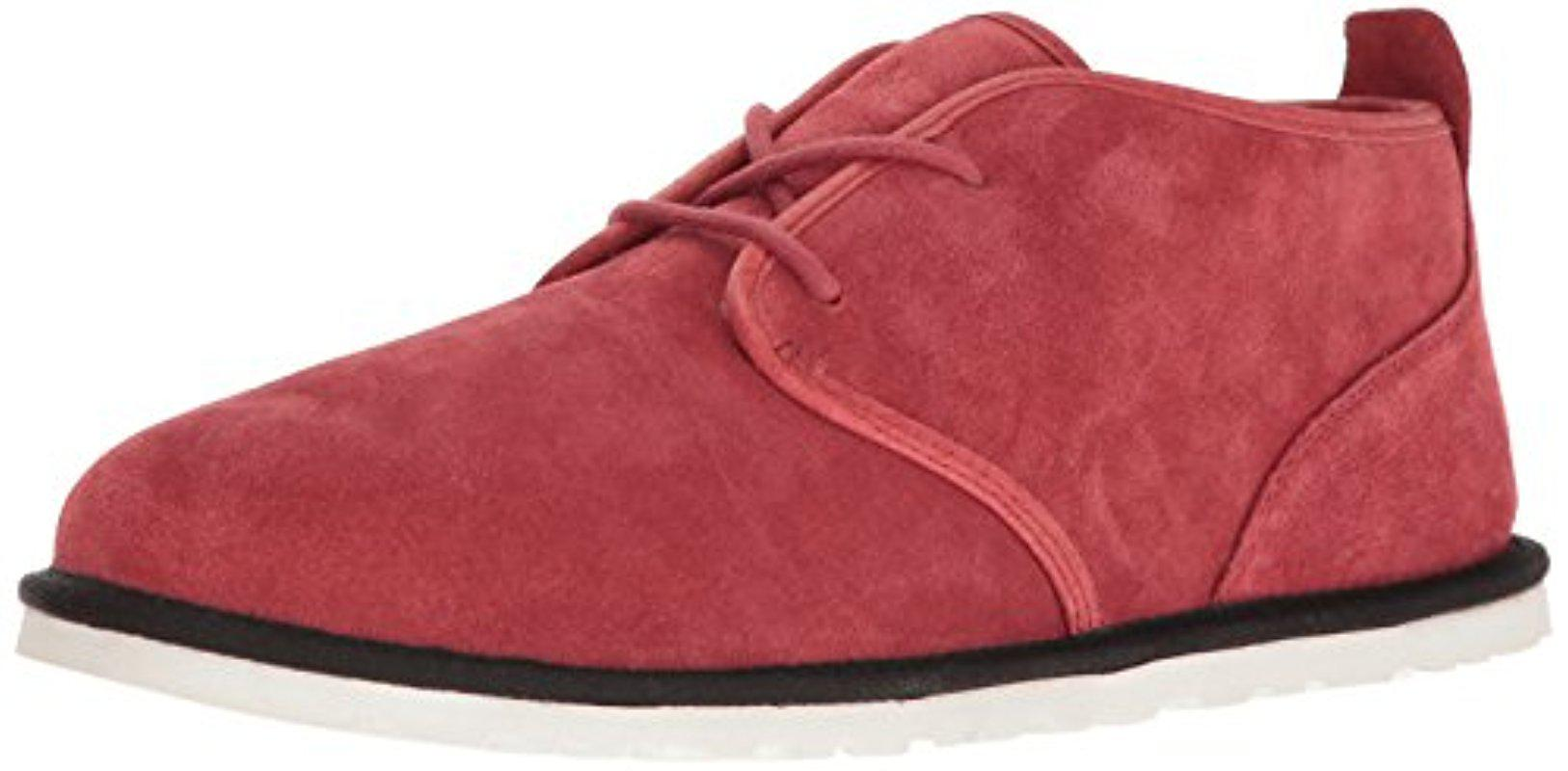 UGG. Men's Red Maksim Chukka Boot