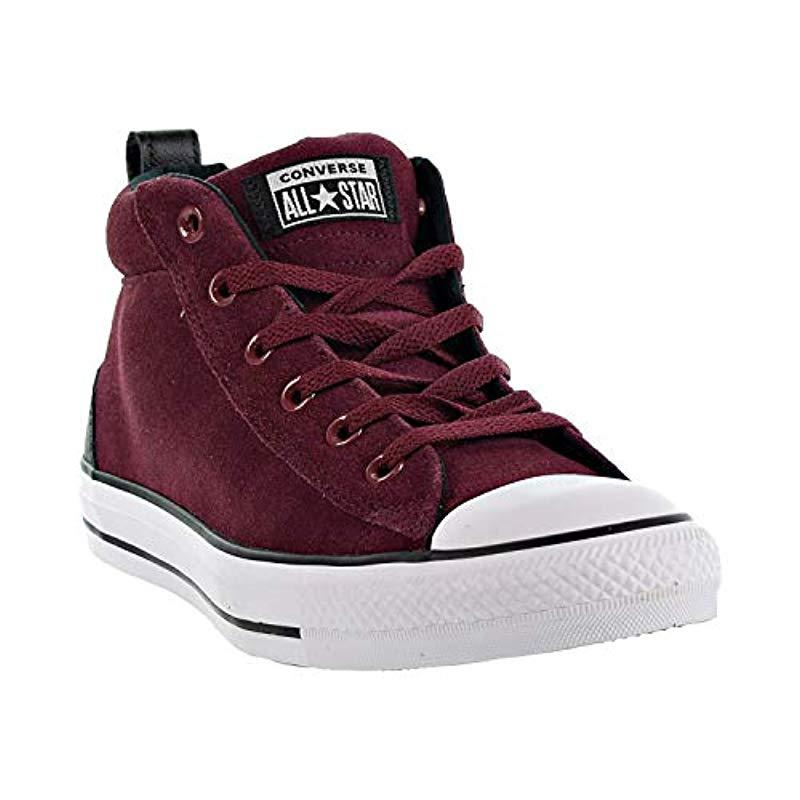 769b6eb1344 Converse - Multicolor Chuck Taylor All Star Street Suede Mid Sneaker for  Men - Lyst. View fullscreen