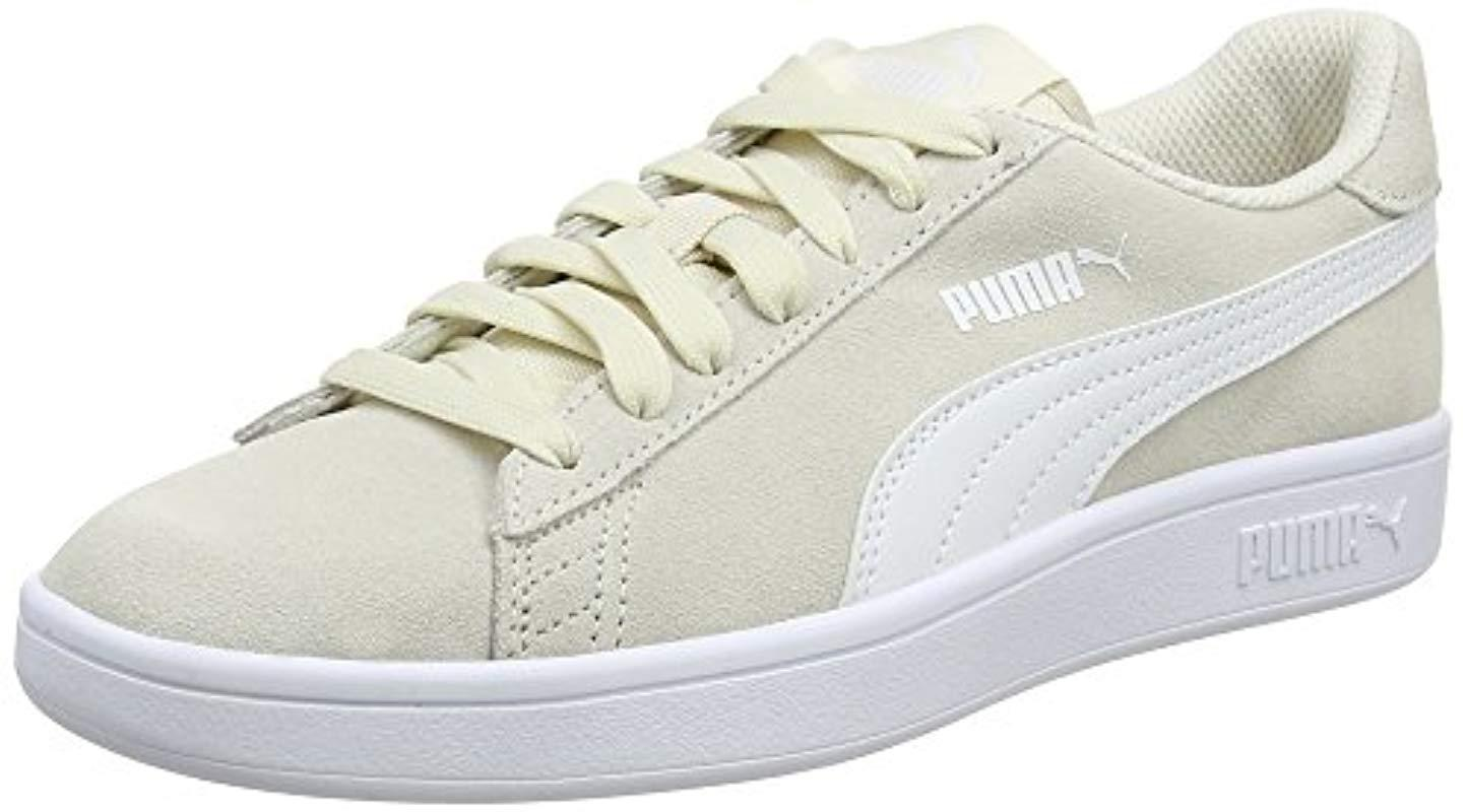 Puma Unisex Adults Smash V2 Low-top Sneakers in White for Men - Save ... 11062fc20