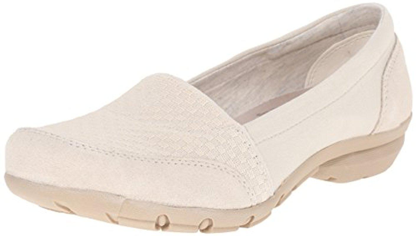 2245a2897d8 Lyst - Skechers Career-interview Flat in Natural