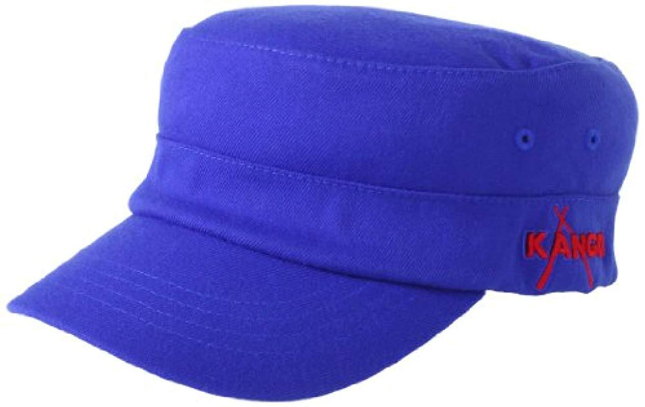 c2979666 Lyst - Kangol Championship Army Cap in Blue for Men - Save 13%