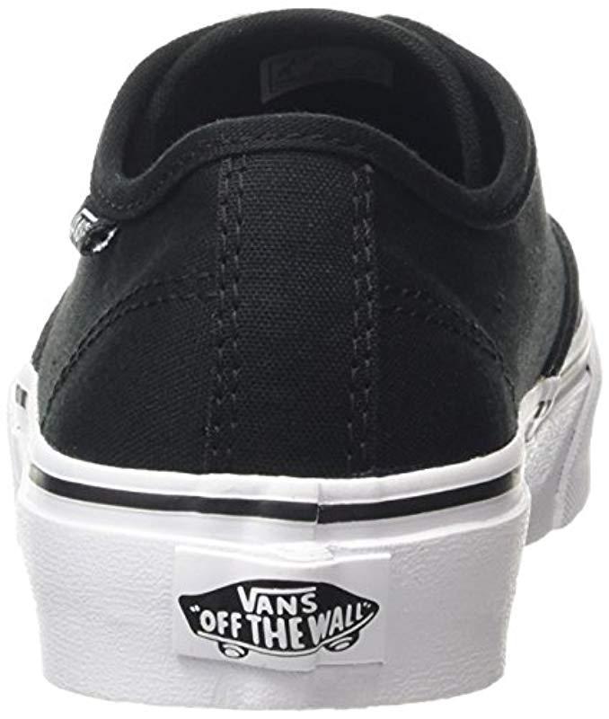 48d81c6d88 Vans Camden Stripe Classic Low-top Sneakers in Black - Lyst