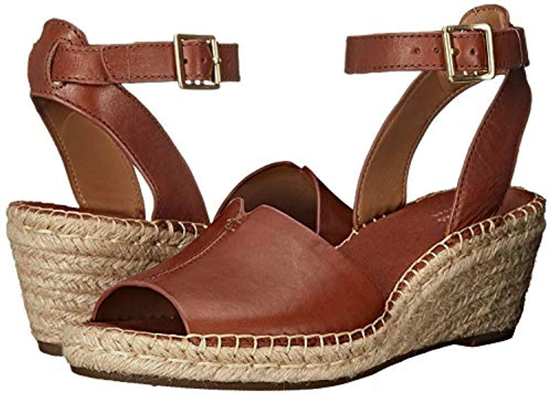 3428498ff73 Lyst - Clarks Petrina Selma Wedge Sandal in Brown