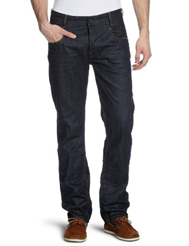 53717d91904 G-Star RAW New Radar Tapered Jeans in Blue for Men - Save 68% - Lyst