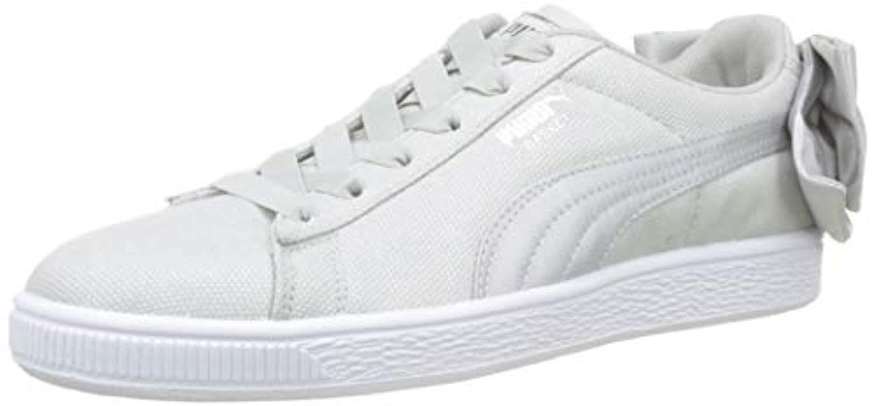 Shimmer Bow Suede Bow Suede Shimmer Puma Puma Wn's OPkZTiuX