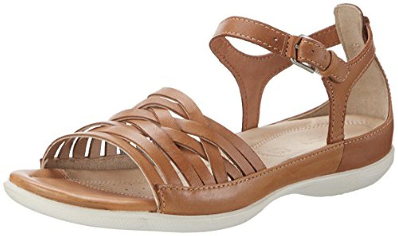 5e6e21ac3e03 Lyst - Ecco Flash Lattice Huarache Sandal