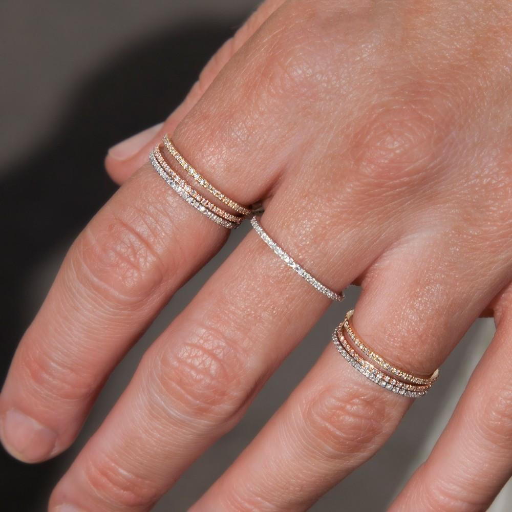 Stone Stacking Rings