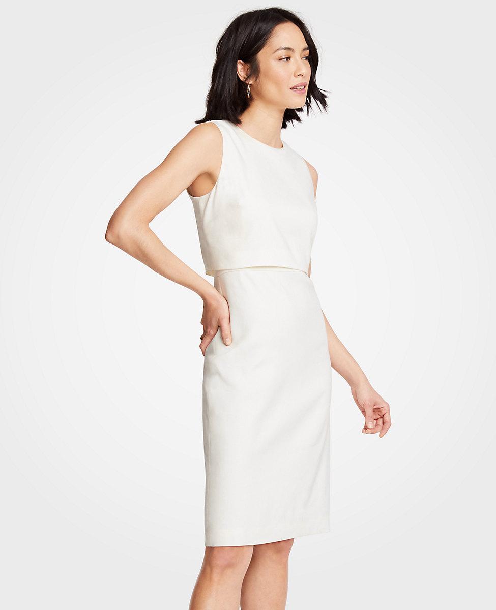 5b544bd6b5 Gallery. Women s White Cocktail Dresses Women s White Linen ...