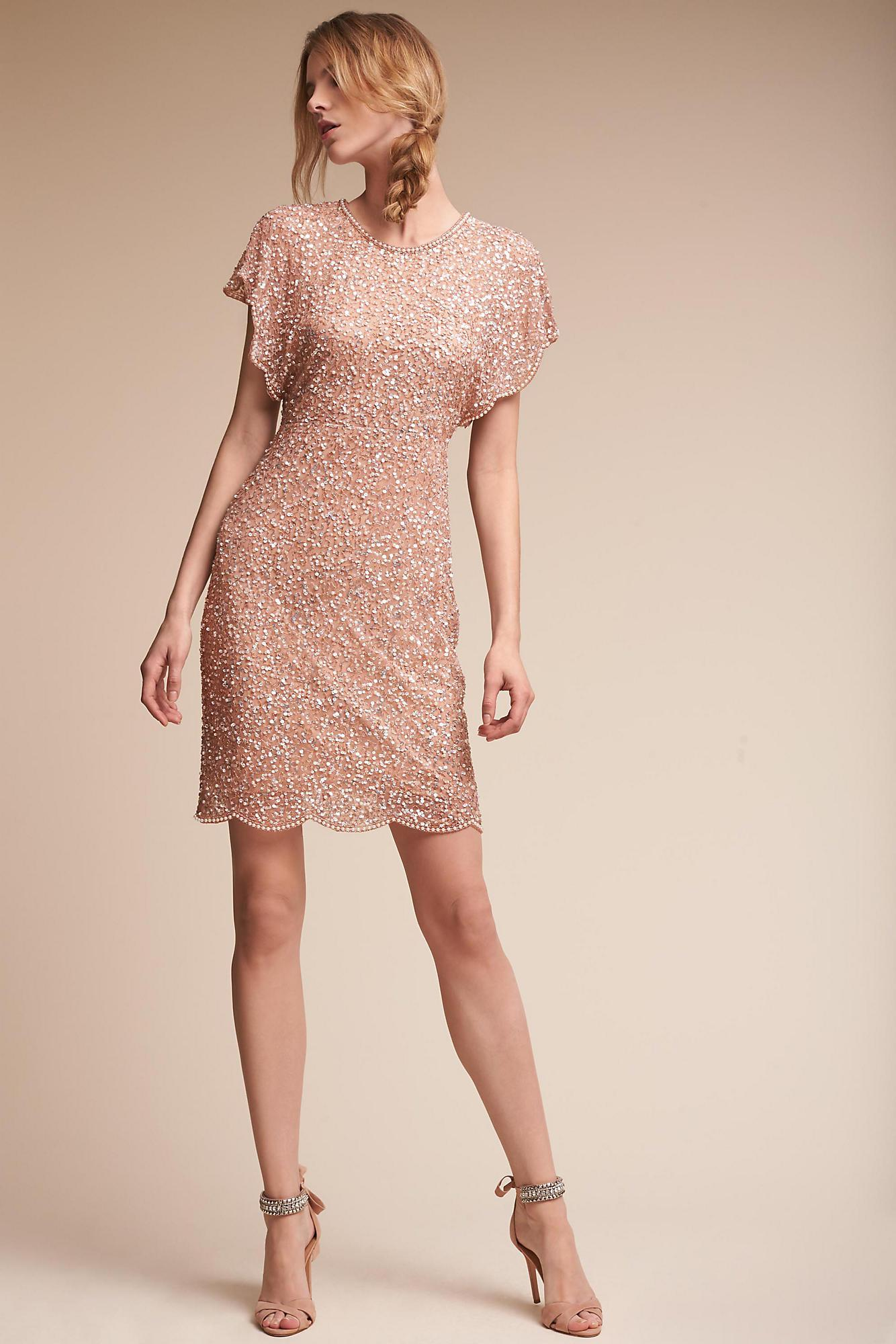 8ecb054e8e727 Lyst - Anthropologie Elin Dress in Pink